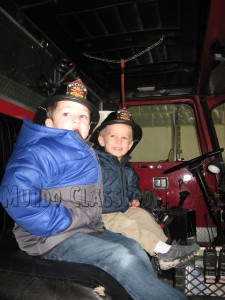 image: Boys in Truck